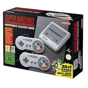 Nintendo classic mini snes £55.99 at Clas Ohlson