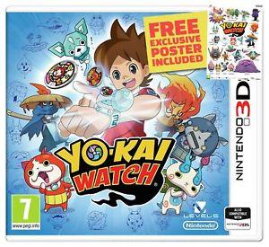 Nintendo 2DS/3DS - Yo-Kai Watch £9.99 Delivered @ Argos Ebay