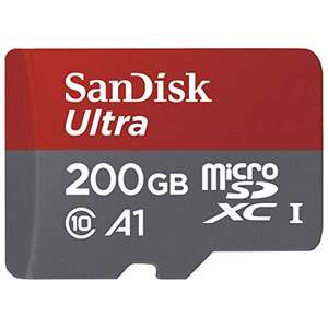 SanDisk Ultra 200GB MicroSD Card - £29.62 Delivered @ Amazon Germany