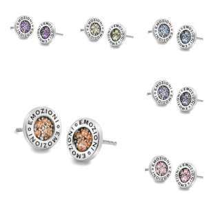 Colourful 925 Sterling Silver Emozioni Earrings £22.40 Including Delivery and Gift Wrapping at hotdiamonds