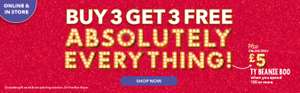 Claire's Buy 3 Get 3 Free Online & Instore