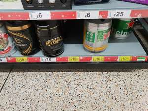 Asda Various 5L Kegs Rolled Back to £10 - Heiniken, Desperados, Strongbow
