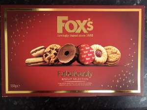 Fox's fabulously biscuits 550g - £2.79 at Home bargains  instore