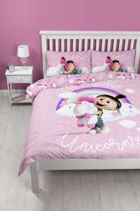 Despicable Me Daydream Bedding Set (reversible)- Single £6.99 delivered @ Argos eBay free p&p