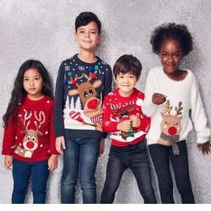 Now Live - 25% Off ALL Christmas Jumpers instore @ Tesco - prices from £4.50 for kids