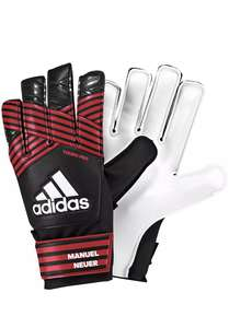 Adidas Ace adult Football Goalkeeper Gloves - Black/Red - Size 9 £4.99 free p&p @ ebay Argos