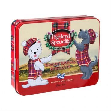 Highland Speciality Scotty Dog 200g Shortbread Tin £1 @ Poundland
