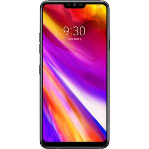 "Grade A LG G7 ThinQ Aurora Black 6.1"" 64GB 4G Unlocked & SIM Free - Handset Only. Which trial £9 off."
