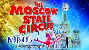 Moscow State Circus Christmas Show Tickets at the NEC Birmingham £12.50 instead of £26 @ Travelzoo