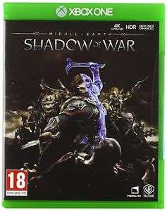 [Xbox One] Middle-earth: Shadow of War - £6.99 (Pre-owned) - eBay/Boomerang