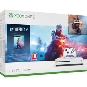 Xbox One S 1TB with Battlefield V Deluxe Edition from ShopTo via Ebay (using code) - £169.99 (Selected users)