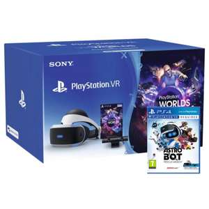 PLAYSTATION VR STARTER PACK WITH ASTRO BOT RESCUE MISSION for £189.95 Delivered @ TGC
