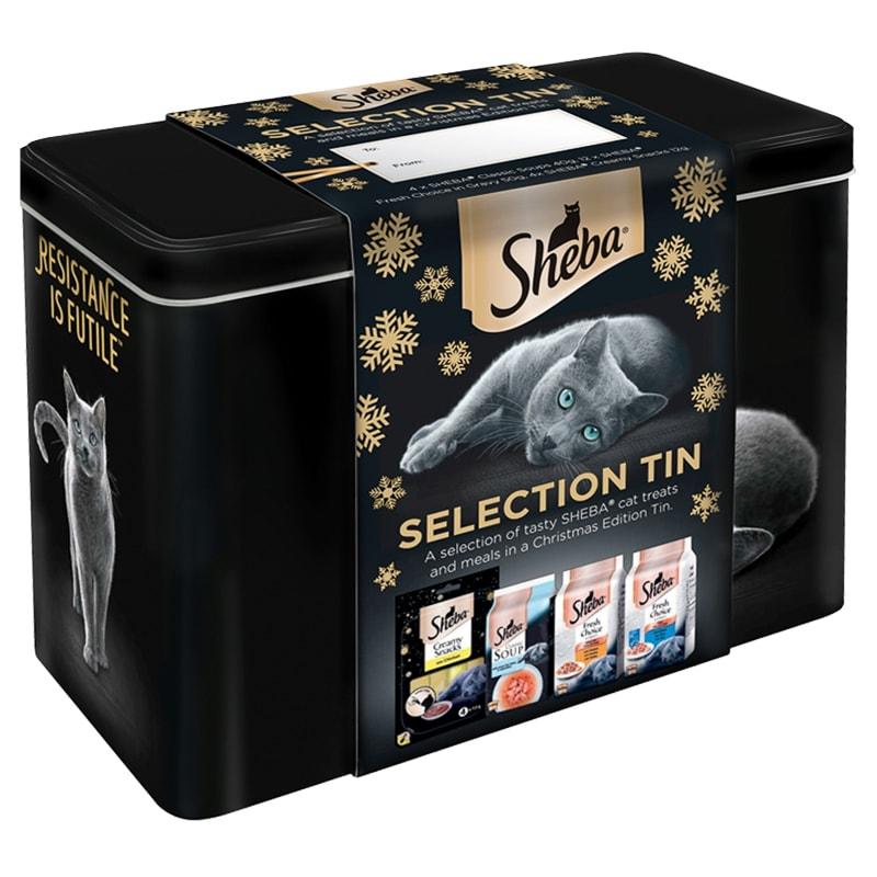 Sheba Christmas Gift Tin £5.99 @ B&M
