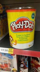 Play Doh Create N Canister half price at Tesco £17.50