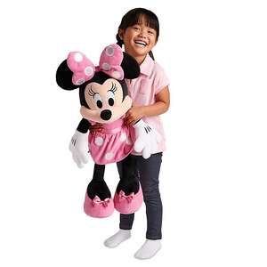 Now £25 Large Soft Toys With free personalisation (+£3.95 Delivery) at ShopDisney