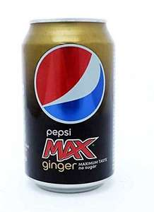 Pepsi max ginger cans - 10p instore @ Poundstretcher