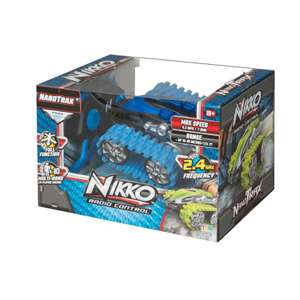 Nikko Radio Control NanoTrax - Blue (Remote Control Car) - £10 + Free C&C using code @ Debenhams