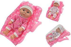 Baby Doll & 2 in 1 Travel Car Seat & Rocker With Blanket Carry Along Toy @ Ebay Sold By  Allansofnetherton £8.49 Delivered