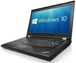 Lenovo Thinkpad T420 Laptop Core i5 8GB Windows 10 - £81 @ ITZOO [Used : Info Crack to LCD Plastic Bezel & Minor Wear to touch-pad]