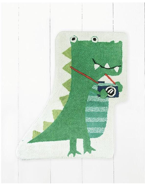 Dinosaur rug 100% cotton £7 free click and collect @ Asda