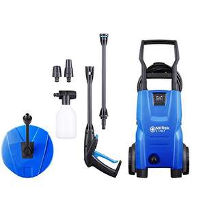 Nilfisk C 110 bar Pressure Washer Set with Patio Cleaner £66.40 Delivered @ Amazon