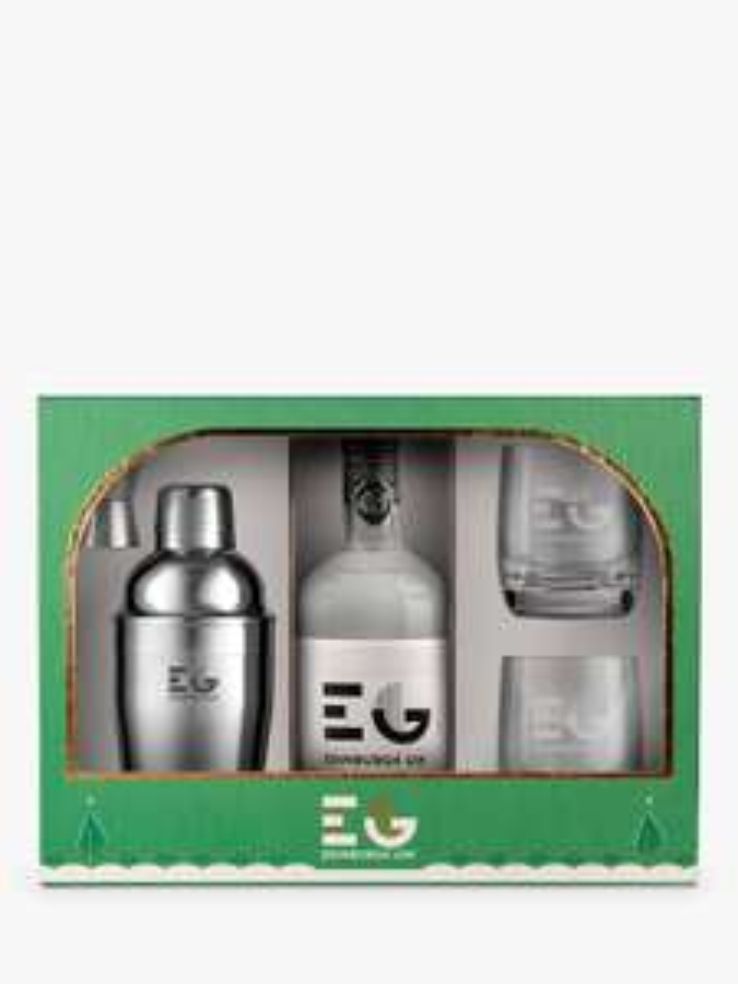 Edinburgh Gin Cocktail Shaker and Glasses Gift Set £64 down to £48 @ John Lewis & Partners