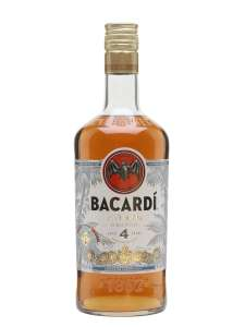 Bacardi Anejo Cuatro Aged 4 Years Rum (Abv 40%) 70cl - £18 (Was £25) @ Morrisons