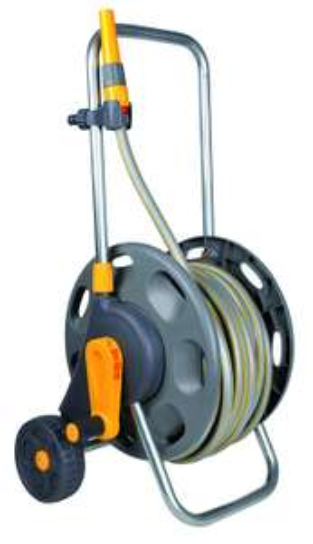 Hozelock 60m Assembled Hose Cart with 50m Hose   £38.99    @ Amazon