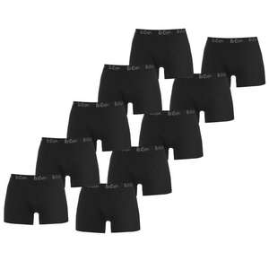 Lee Cooper Hipster Trunks 10 Pack Mens £16 + £4.99 Delivery at Sports Direct