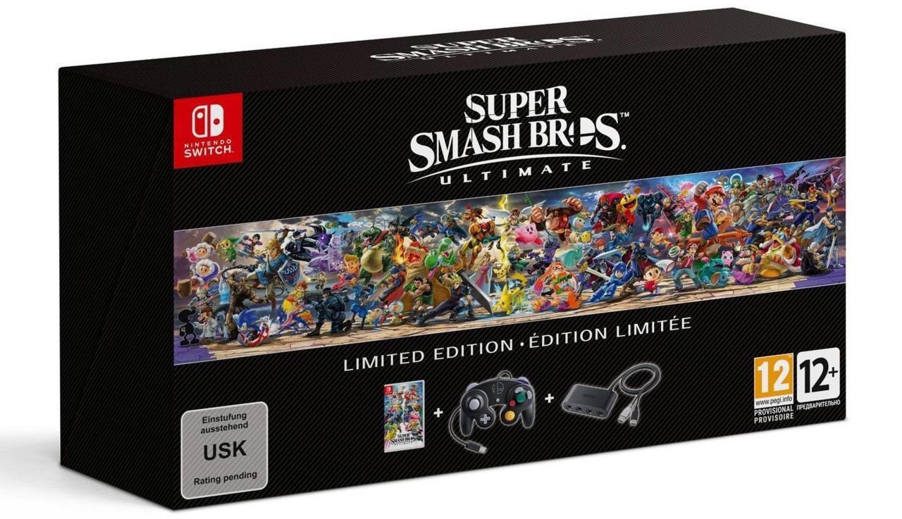 Super Smash Bros Ultimate Limited Edition at £74.99 @ Argos