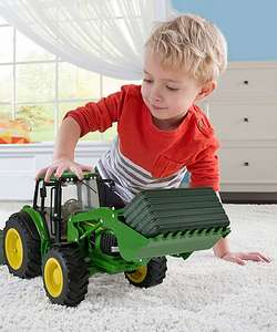 John Deere toy tractor and loader £20 C+C @ Mothercare