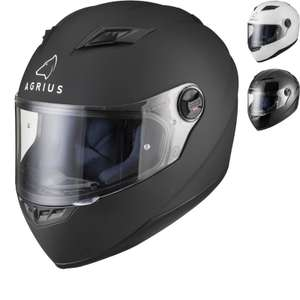 Agrius Rage Solid Motorcycle Helmet (Pinlock Ready) £21.69 + £2.99 delivery @ Ghostbikes (Free del. over £25 spend)