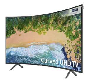 """SAMSUNGUE65NU7300 65"""" Smart 4K Ultra HD HDR Curved LED TV @ Currys for £879"""