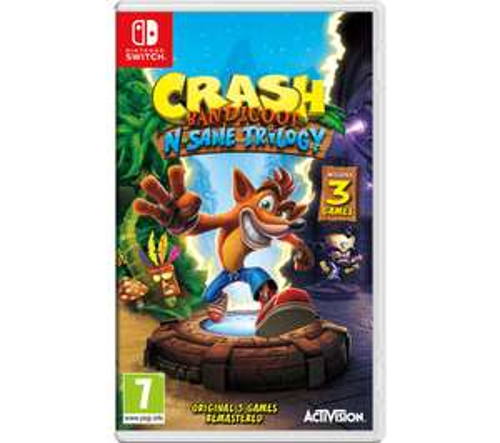 Crash Bandicoot Switch £27.99 @ Currys