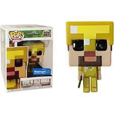 Funko Pop! Minecraft - Steve in Gold Armor £10.65 delivered @ The entertainer