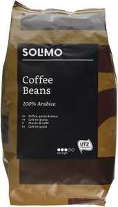 Amazon brand solimo coffee beans 2 x 1kg for 12.46 prime / £16.95 non prime -  less if you subscribe and save