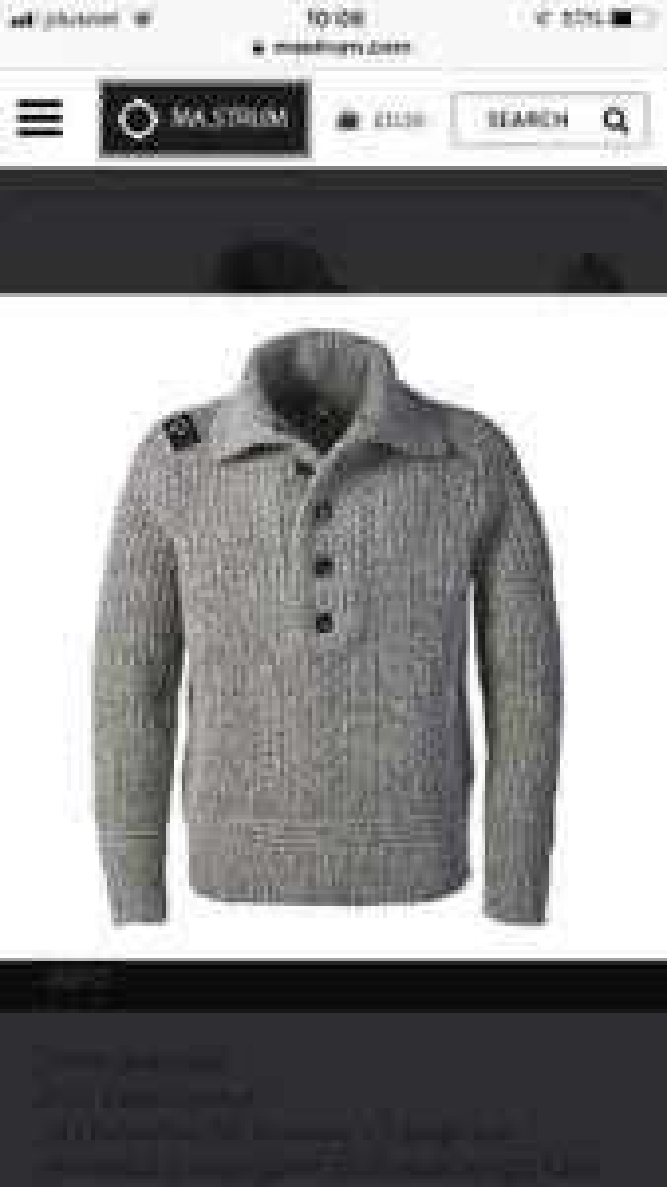 50% off MA STRUM knits, Jumpers @ Mastrum
