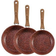 JML Copper Stone Non stick pan set £50.99 @ Robert dyas - Free c&c