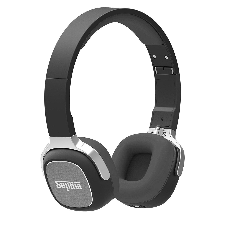 Sephia SX16 Wireless Bluetooth Headphones,Black for £8.76 Prime/£13.25 Non, Delivered @ Amazon (Sephia)