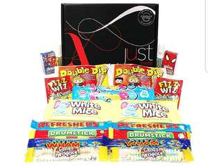 Retro Sweets Sharing Hamper £5.35 with 10% discount on Amazon Prime Sold by CB UK LTD and Fulfilled by Amazon / £7.84 non Prime