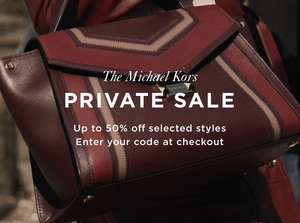 Michael Kors Private Sale - Up to 50% off selected items