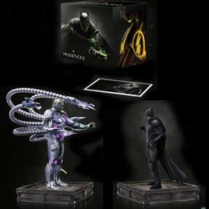 TriForce DC Comics Injustice 2: The Versus Collection with 2 PVC Statues and lithographs £35.98 w/code delivered @ Zavvi