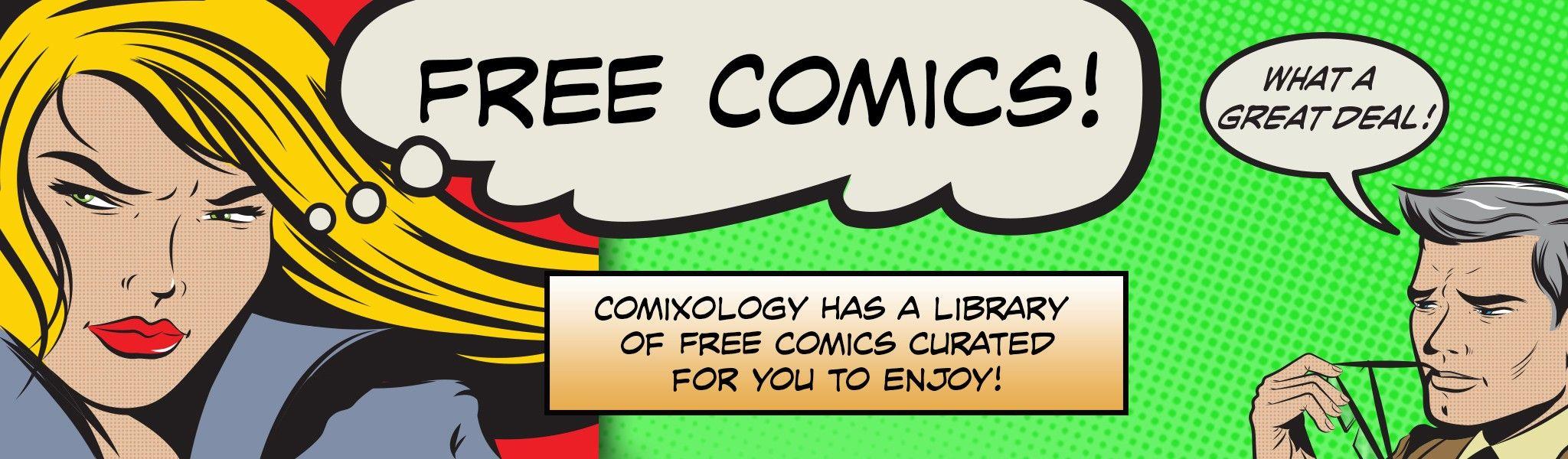 Free Digital Comics @ Comixology
