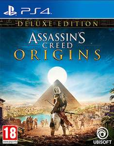 Assassin's Creed: Origins Deluxe Edition (PS4) £24.95 Delivered @ The Game Collection