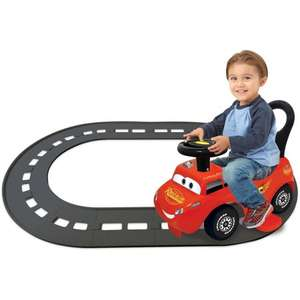 Kiddieland Disney Cars Lightning McQueen 3 in 1 battery powered ride on with track £31.45 Del w/code  @ eBay sold by Tesco outlet