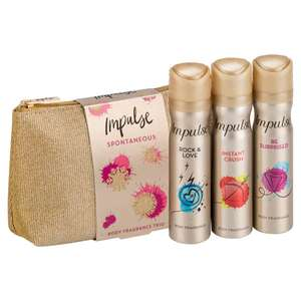 Impulse Washbag Gift Set £5 @ Superdrug