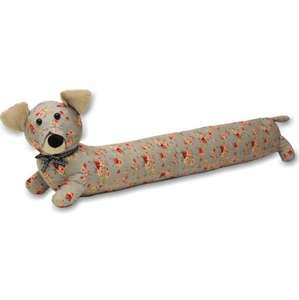 Dog draught excluder (floral) was £28, now £9.33 - 67% off @ Wayfair.