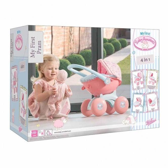 Baby Annabell 4 in 1 My First Pram £21.99 @ TJ HUGHES - £1.99 c&c