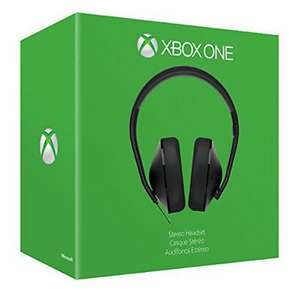 *NOW LIVE* Microsoft Xbox One Stereo Headset Black Wired Lightweight Deep Bass £21.15 w/code [10/12-14/12] @ Tesco Outlet eBay