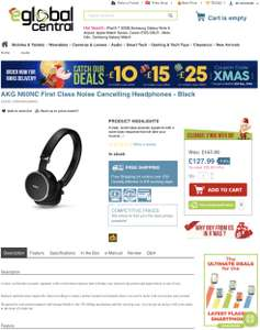 AKG N60NC First Class Noise Cancelling Headphones - Black £127.99 @ Eglobal Central